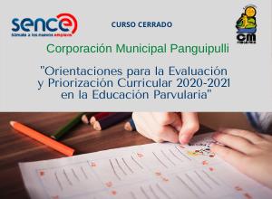 Orientaciones para la Evaluación y Priorización Curricular 2020-2021 en la Educación Parvularia