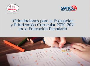 Orientaciones para la Evaluación y Priorización Curricular en la Educación Parvularia